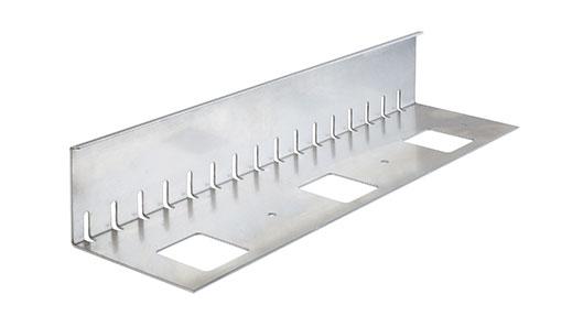 metallwelt kiesfangleiste. Black Bedroom Furniture Sets. Home Design Ideas
